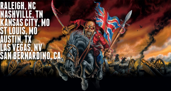 Iron Maiden Returns to the U.S. For Select Shows