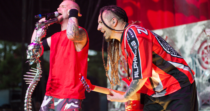 Five Finger Death Punch   June 30, 2013