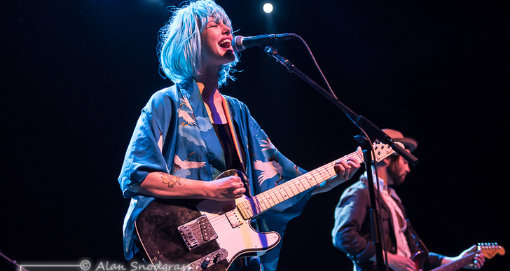 Esme Patterson at the Fillmore in San Francisco