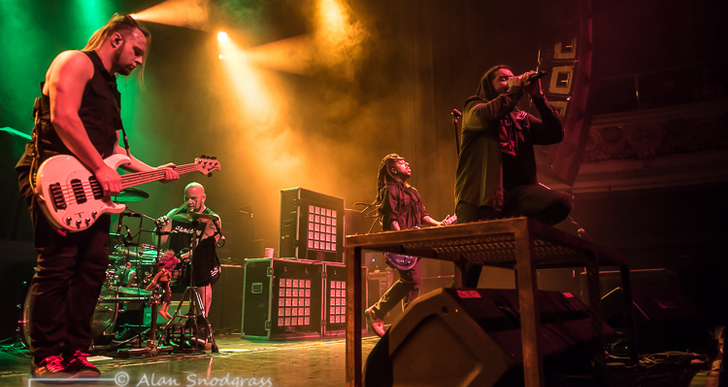 Nonpoint at the Regency Ballroom in San Francisco