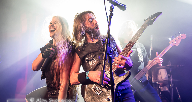 The Agonist at Social Hall SF in San Francisco