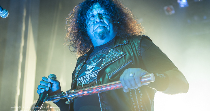 Testament, Sepultura and Prong at The Regency Ballroom in San Francisco