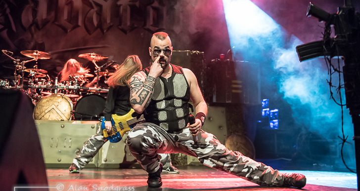 Sabaton, Battle Beast and Leaves Eyes at the Regency Ballroom in San Francisco