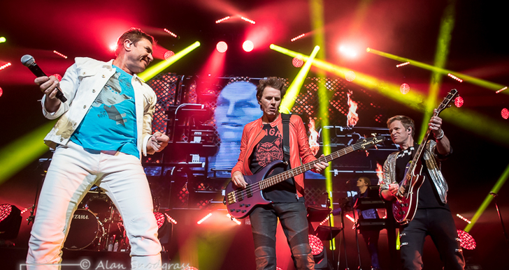Duran Duran at the Fox Theater in Oakland