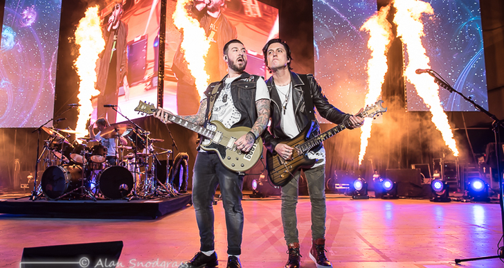 Avenged Sevenfold, A Day To Remember and Ho99o9 at the Shoreline Amphitheatre in Mountain View