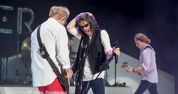 Foreigner and Cheap Trick at the Shoreline Amphitheatre in Mountain View