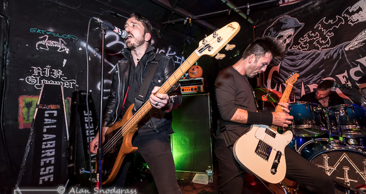 Calabrese, Stellar Corpses and Argyle Goolsby at 924 Gilman St. in Berkeley