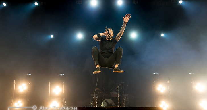 Rise Against, Pennywise and Boss' Daughter at the Grand Sierra Resort in Reno