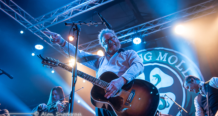 Flogging Molly, Jon Snodgrass and Scott Hiram at the Catalyst in Santa Cruz