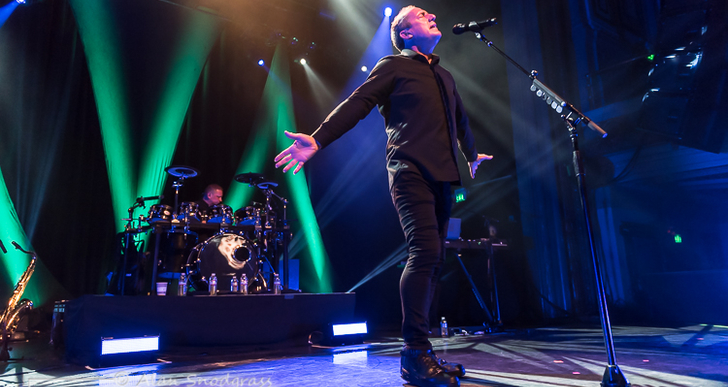 Orchestral Manoeuvres In The Dark and GGOOLLDD at the Regency Ballroom in San Francisco