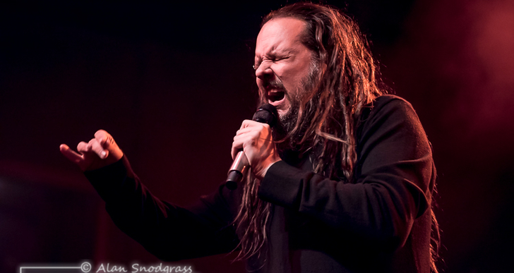 Jonathan Davis and Palisades at The Fillmore in San Francisco