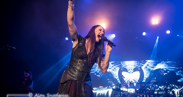 Nightwish at the City National Civic in San Jose