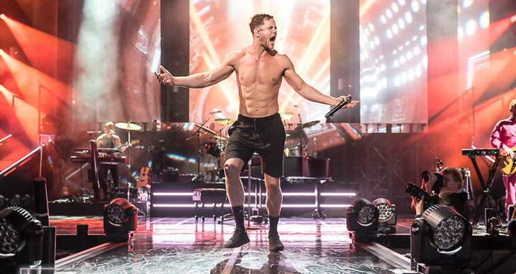 Imagine Dragons and Grace VanderWaal at the Concord Pavilion in Concord