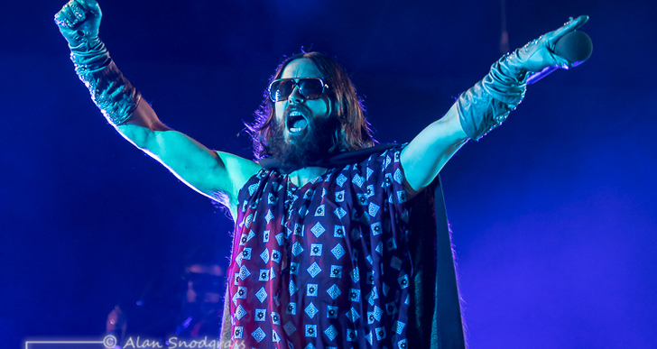 Thirty Seconds to Mars, Walk The Moon and K.Flay at the Shoreline Amphitheatre in Mountain View