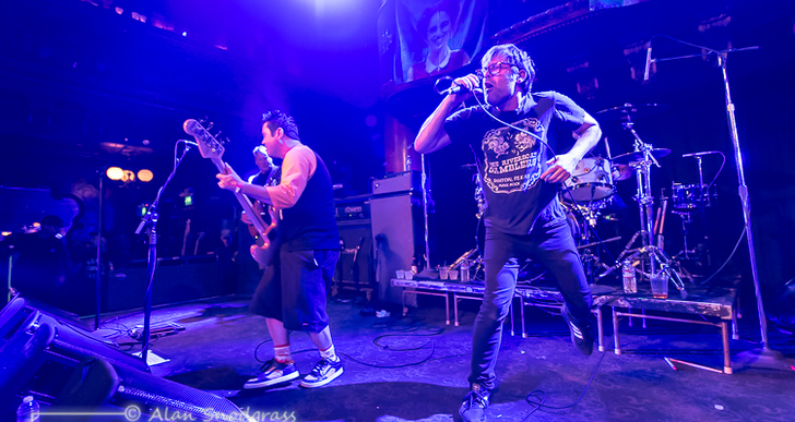 Lagwagon, No Fun At All, Western Addiction and A Vulture Wake at the Great American Music Hall in San Francisco
