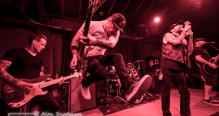 Strung Out, The Bombpops and Counterpunch at the Catalyst in Santa Cruz