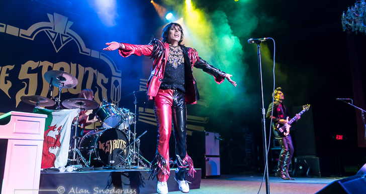 The Struts, The Wrecks and Thunderpussy at the Fillmore in San Francisco