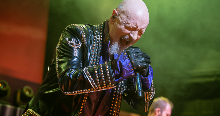 Judas Priest and Uriah Heep at the Warfield in San Francisco