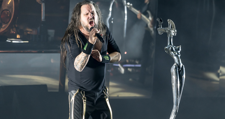 Korn, Alice In Chains, Underoath and Fever 33 at the Shoreline Amphitheatre in Mountain View
