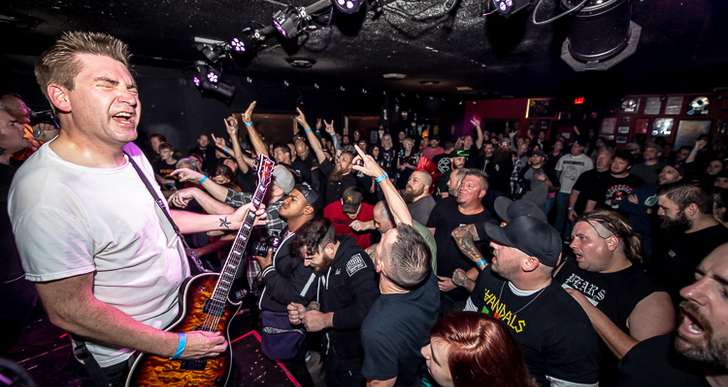 Good Riddance, Get Dead, Sharp/Shock and The Last Gang at Holy Diver in Sacramento