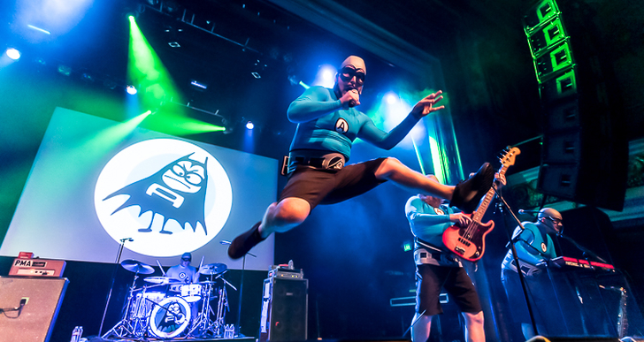 The Aquabats, PPL MVR and Jacob Turnbloom at the Regency Ballroom in San Francisco