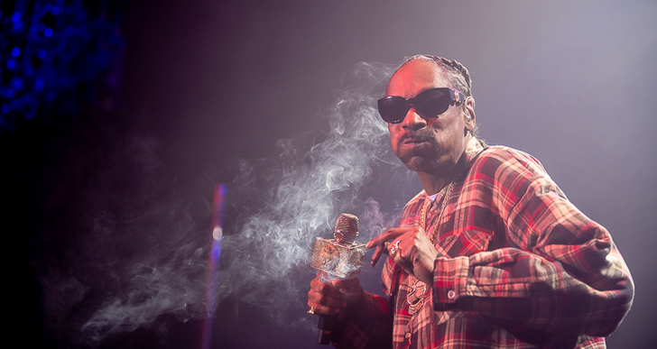 Snoop Dogg, Berner, Warren G and RJMrLA at the Fillmore in San Francisco