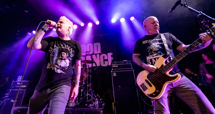 Good Riddance, Youth Brigade, The Last Gang and The Love Songs at Slim's in San Francisco