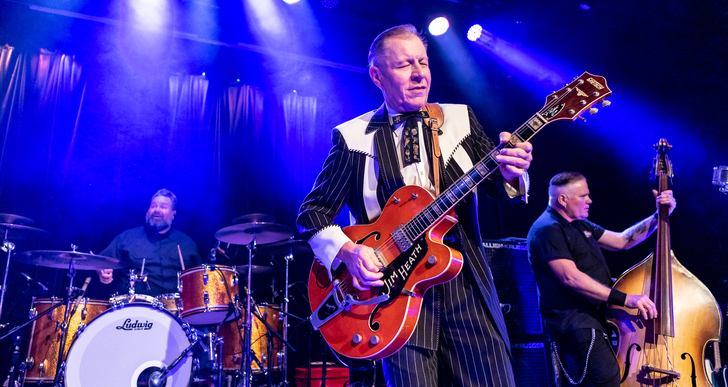 Reverend Horton Heat, The Buttertones and The Paladins at Slim's in San Francisco