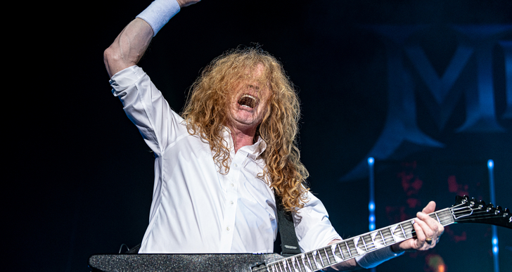 Megadeth, Lamb of God, Trivium and Hatebreed at the Concord Pavilion