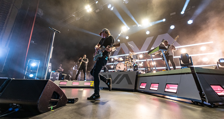 Angels and Airwaves, Bad Suns and 1990nowhere at the Warfield in San Francisco
